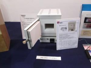 小型高温用電気炉 ポストH型                    作:橘 仁郎 会員